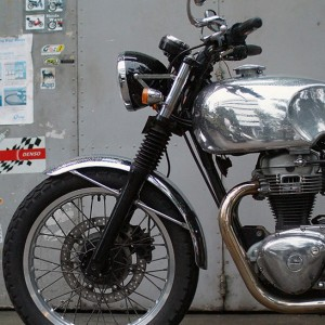 Kawasaki W650 Singapore Chrome Tank