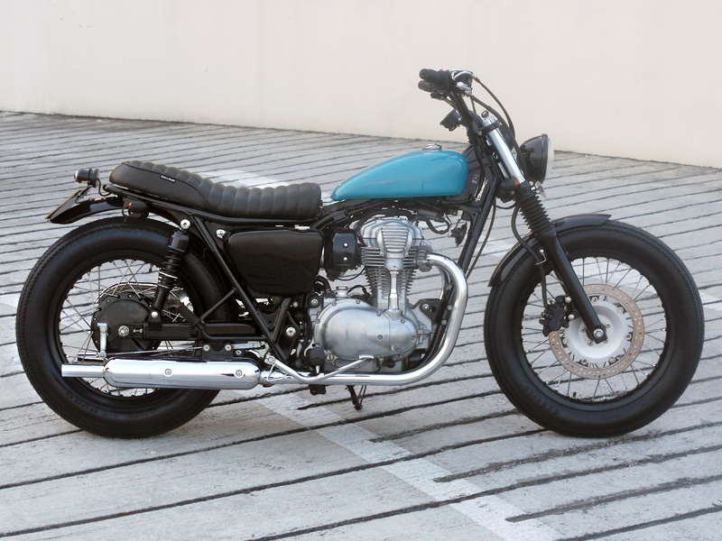 Cafe Racers, Trackers, Bobbers and Custom Motorcycles
