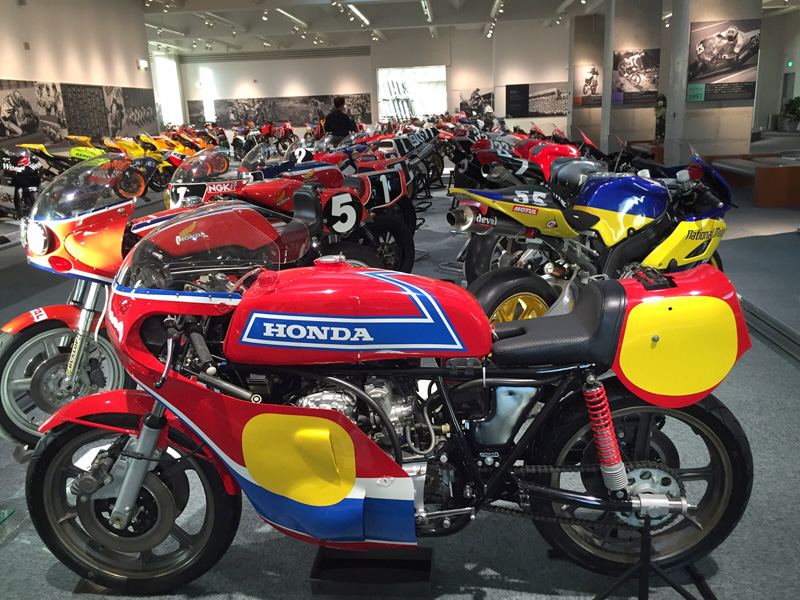 Kawasaki Motorcycle Museum Japan