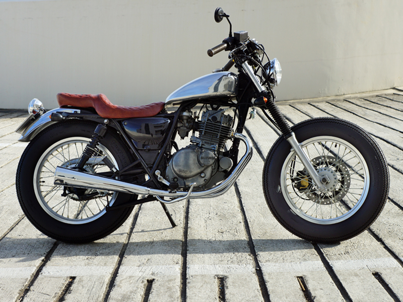 suzuki gn250 funny chopper custom burner. Black Bedroom Furniture Sets. Home Design Ideas